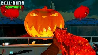 BLACK OPS 3 ZOMBIES - SCARY HALLOWEEN BUYABLE ESCAPE ZOMBIES GAMEPLAY MOD! (BO3 Custom Zombies)