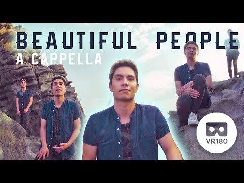 Beautiful People Ed Sheeran Khalid A Cappella Cover in VR180 Sam Tsui
