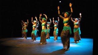 Tribal Fusión con espadas - Alumnas Ananda Búcari