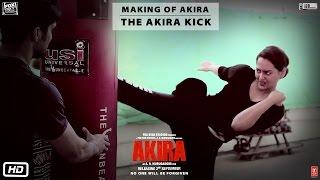 Akira | Making of Akira - The Akira Kick | Sonakshi Sinha | A.R. Murugadoss | 2nd Sept 2016