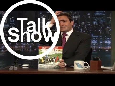 [Talk Shows]Do Not Read with Jimmy Fallon - The Single Vegan