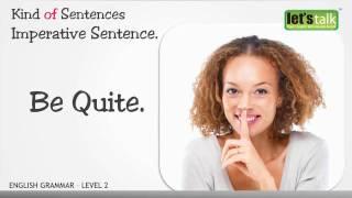 Sentence -  English Grammar level 2.