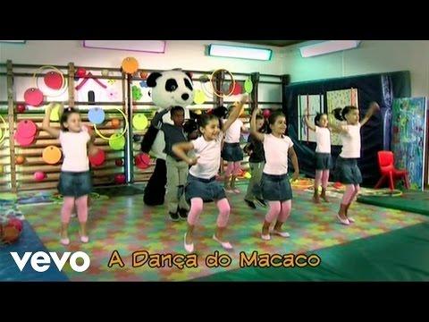 Panda vai à Escola A Dança do Macaco