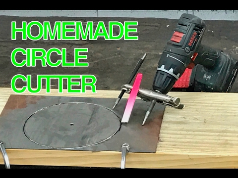 Xxx Mp4 HOMEMADE DIY Circle Cutter For Metal Out Of An Old File And Vice Grips 3gp Sex
