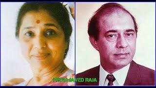 TALAT & ASHA-Film-ZINDAGI YA TOOFAN-{1958}-(2 Different Versions)-Hamara Kya Hai Hum Tadpein-