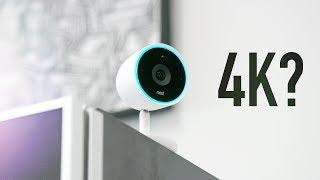 Nest Cam IQ: Security Camera + 4k Sensor?