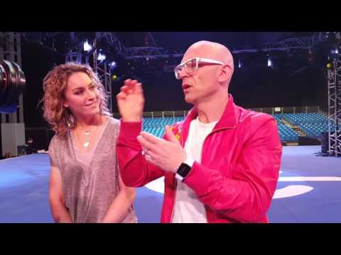 Interview with Jason Bradbury and Amy Williams from the gadget show live 2016