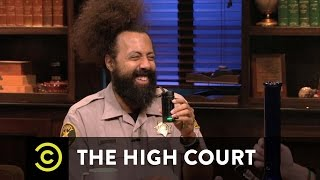 The High Court - Reggie Watts Takes Excellent Notes