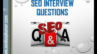 Common SEO Interview Questions