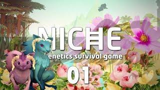 NICHE #01 PEACEFUL MEADOW Genetics Survival Game - Let