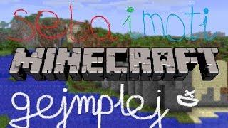 Seba i Mati Gejmplej - Minecraft