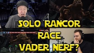 Star Wars: Galaxy Of Heroes - Solo Rancor Race Post Vader Nerf?