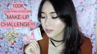 100K MAKEUP CHALLENGE!!  (NOT INCLUDE SKINCARE) BY ZIELA RHEEVA