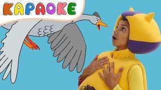 КАРАОКЕ - ГУСИ ЛЕБЕДИ - Кукутики - Kukutiki kids funny karaoke song toddlers
