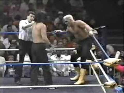 SN 4/14/90 Sting vs Muta from Starrcade