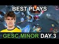 GESC Indonesia Minor 2018 BEST PLAYS Day 3 Highlights By Time 2 Dota Dota2 mp3