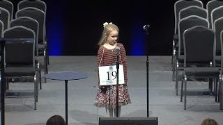 Meet The 5-Year-Old Who's The Youngest Spelling Bee Champion Ever