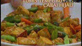 Resep Masakan Tumis Tempe Buncis Cabai hijau