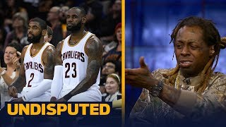Lil Wayne on Kyrie leaving LeBron and the Cavs: 'You gotta do what you wanna do' | UNDISPUTED