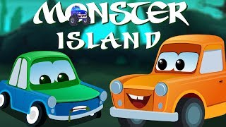 Monster Island | Scary Nursery Rhymes Songs For Childrens | Scary Video For Kids And Babies