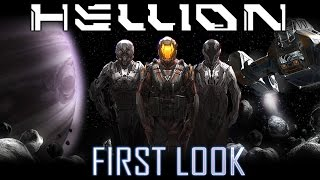 Hellion - First Look (Multiplayer Space Survival)