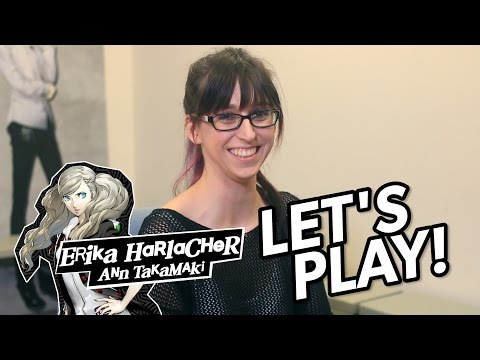 Let's Play Persona 5 With Ann Takamaki's VA Erika Harlacher!
