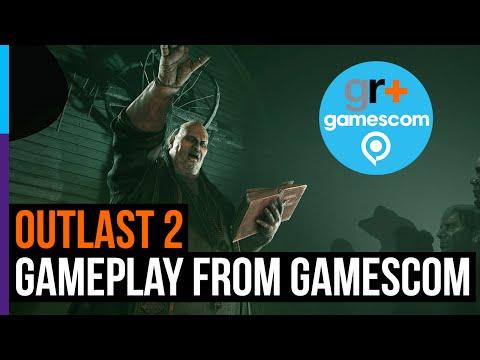 Outlast 2 - gameplay from Gamescom 2016!