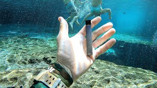 I Found a JUUL Underwater in the River While Searching for Lost Valuables! (Underwater Finds)