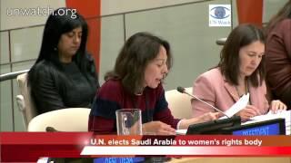 No Joke: U.N. Elects Saudi Arabia to Women's Rights Commission