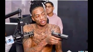 Boonk Gang LOSES HIS MIND Pulls Out a Gun During His Radio Interview!