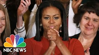 Michelle Obama's Final Speech As First Lady, Reflects On Diversity, Future Plans (Full)   NBC News
