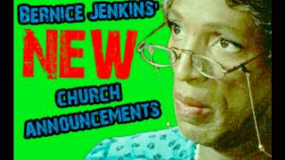 Bernice Jenkins Mumbling Old Lady