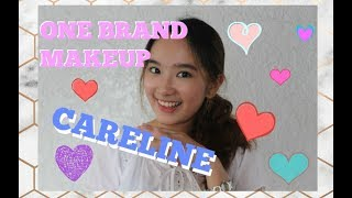 Affordable One Brand Makeup Look: Careline (For Beginners/ Everyday Natural Makeup)