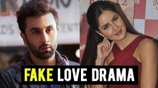 Ex Ranbir Kapoor Katrina Kaif FAKE Love In Public | Jagga Jasoos Promotions
