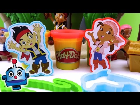 Play Doh Jake y los Piratas Tesoros Piratas Treasure Creations Juguetes de Play Doh