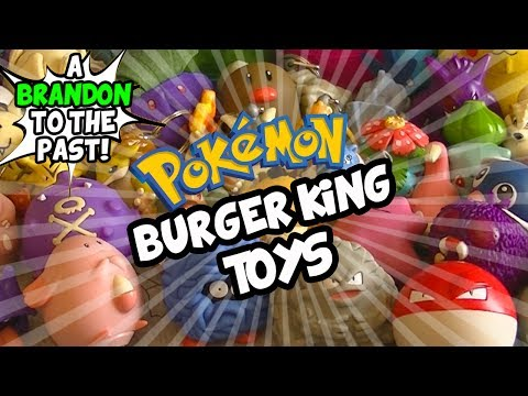A Look Back At Pokemon Burger King Toys (+GIVEAWAY)