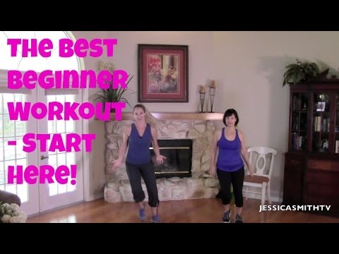 The Best Beginner Workout How to Start Exercising Safely 30 Minute Full Length Home Routine