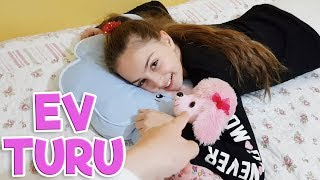 EV TURU ( House Tour ) - Odalarımızı Nasıl Değiştireceğiz !!