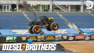 How High Can Heavy D Jump? | Diesel Brothers: Monster Jump LIVE