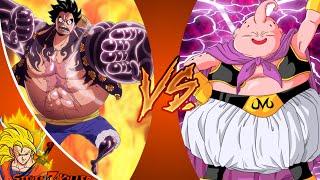 LUFFY vs MAJIN BUU! Cartoon Fight Club Episode 58 REACTION!!!