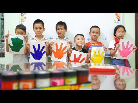 Xxx Mp4 Kids Go To School Learn Colors Pain Hand KIDS Go Shopping For CARS TOYS Song For Children 3gp Sex