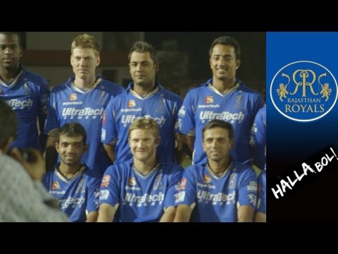 ROYALS' FINAL JAIPUR TRAINING SESSION:  final RR training before CSK and team photo