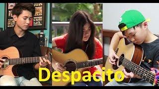 Despacito Luis Fonsi, Daddy Yankee ft Compilation Sean, Josephine Alexandra, Andrew Foy