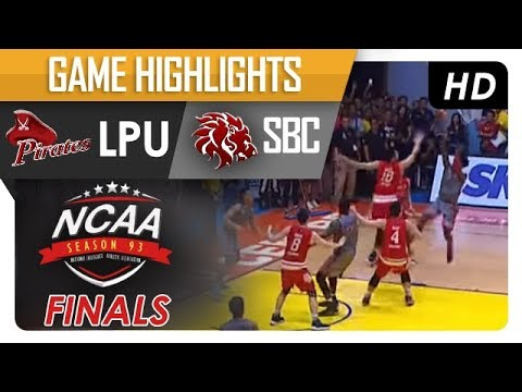 NCAA 93: SBC vs LPU Game Highlights - October 19, 2017
