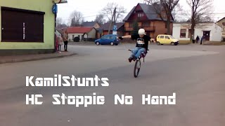 KamilStunts - No Hand HC Stoppie