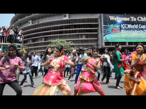 ICC World Cup T20 Bangladesh 2014 - Flash Mob Dance, Islamia University College, Chittagong. (01)