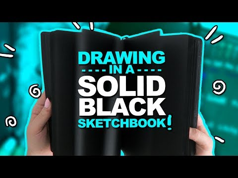 OMG THIS WAS NOT EASY Mystery Art Box Paletteful Packs Unboxing Black Sketchbook