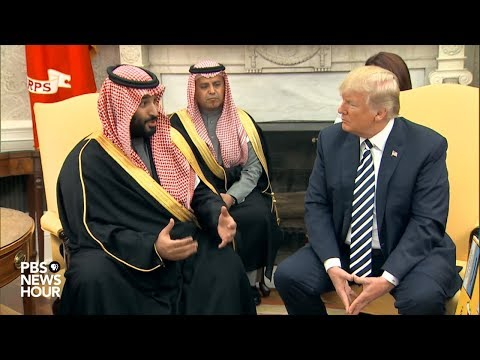Xxx Mp4 WATCH President Trump Holds Meeting With Saudi Arabian Crown Prince 3gp Sex