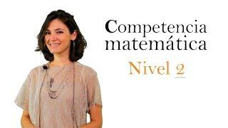 Competencia Clave Matemática Nivel 2 (FCOV23)