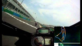 Magny-Cours 2011 1'59'' GSXR 1000 (GoPro HD Bazzaz)